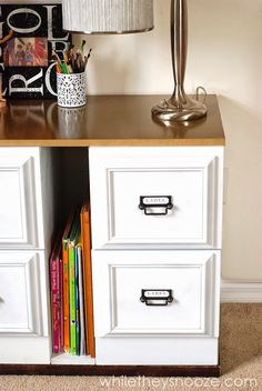 While They Snooze: File Cabinet Update