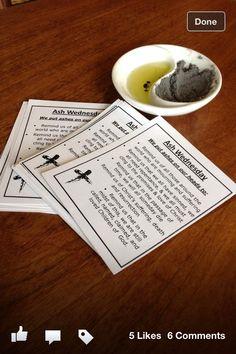 lent | Ash Wednesday