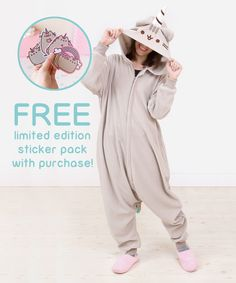 Pusheenicorn unisex kigurumi costume – Hey Chickadee