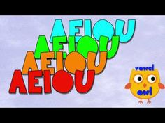Vowel Song - YouTube.......awesome.....nice and long, which is great for memoru