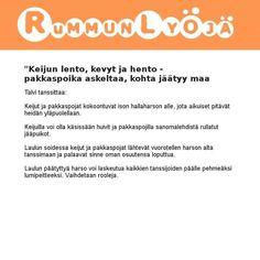 Leikkivinkki Marika Luokkala Opi, Education, Iphone, Onderwijs, Learning