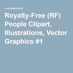 Royalty-Free (RF) People Clipart, Illustrations, Vector Graphics #1