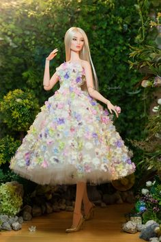 Barbie Bridal, Barbie Wedding Dress, Barbie Gowns, Barbie Dress, Barbie Clothes, Wedding Dresses, Disney Barbie Dolls, Barbie I, Barbie World