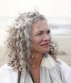 Curly gray hair  (Beauty, Skin Care, Hair, Makeup, and Anti-Aging Tips - Prevention.com)