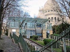 Le funiculaire de Montmartre et le Sacré Cœur