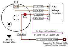 Car Alternator Circuit Wiring Diagram