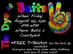 Tie Dye @ Baits - August 2013