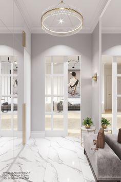 Home Hall Design, Home Interior Design, House Design, Small Apartment Design, White Apartment, Home Entrance Decor, Hallway Designs, Room Design Bedroom, Floor Design