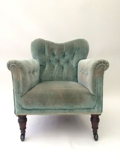Antique Victorian Button Back Chesterfield Salon Chair Rustic Tub Armchair in Home, Furniture & DIY, Furniture, Sofas, Armchairs & Suites | eBay