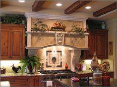 Wonderful Tuscan Style Decor | Toscana Precast Kitchen Hood Tuscan Kitchen Hood Gallery