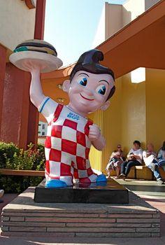 Big Boy Fast Food, California  Oldest in Burbank