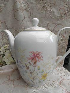 """Kaffeekanne """"Iris"""" von sabinchenfrauenzimmer auf DaWanda.com"""