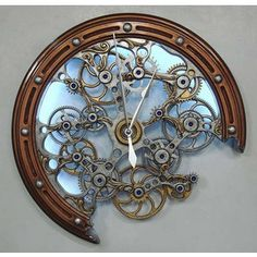 25 Clocks Designs:     10 Thumbnail sketches:          Some of the designs above incorporate lines.  They do this by combining the shapes to...