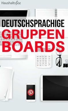 Hier sind deutschsprachige Pinterest Gruppenpinnwände zu den Themen Putzen, Haushalt, Aufräumen und Ausmisten.