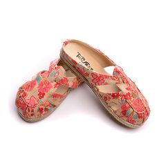 (Buy here: http://appdeal.ru/1835 ) Tang dance of Thailand folk style big shoes lazy handmade ladies slippers summer linen casual female canvas shoes for just US $38.37