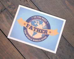 Best in the World Father's Day Card
