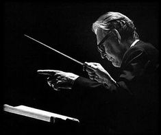 Otto Klemperer - great German conductor (1885-1973).