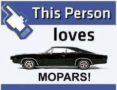 This Person Loves Mopars Mopar Girl, Mopar Or No Car, My Dream Car, Dream Cars, Winning The Lottery, Plymouth, Custom Cars, Cars Motorcycles, Muscle Cars