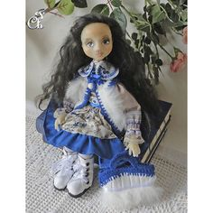 Textile doll OOAK/ Interior doll/ Art doll/ collecting doll