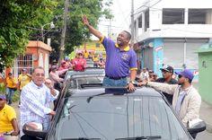 René Polanco encabeza enorme caravana en Santo Domingo Norte; proclama PLD tendrá candidato en SDN