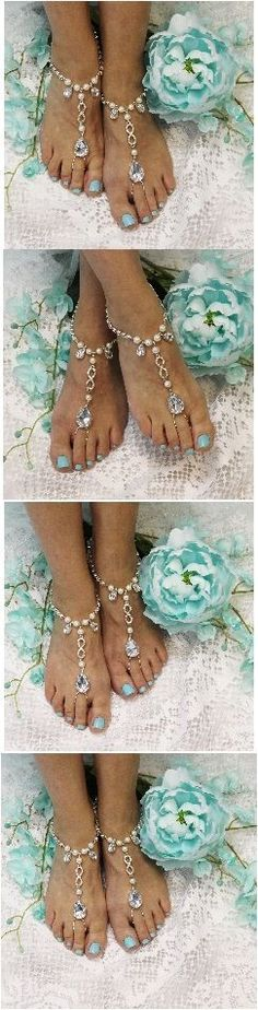 ETERNAL barefoot sandals wedding Say I do at your beach wedding wearing our infinity barefoot sandals. Gorgeous footless sandals that show your eternal love with an infinity symbol. Wedding Pins, Trendy Wedding, Dream Wedding, Wedding Day, Wedding Beach, Casual Wedding, Wedding Jewelry, Destination Wedding, Beach Foot Jewelry