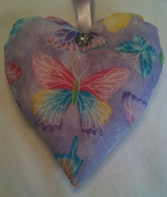 Butterfly Gift / Butterfly Fabric Lavender Bag / Nature Gift - Handmade in Home, Furniture & DIY, Home Decor, Other Home Decor | eBay
