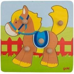 Peg Puzzle - Pony