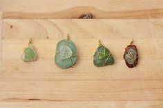 DIY sea glass jewelry
