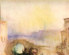 Schiavoni by Joseph Mallord William Turner Watercolor . Joseph Mallord William Turner, History Painting, Turner Watercolors, Painting Inspiration, Painting, Illustration Art, Art, Watercolor Sketch, Famous Landscape Paintings
