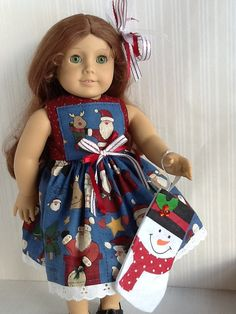 Dresses and easy to sew doll patterns in my peekabooporch store on