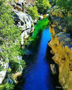 Isparta'da bulunan Yazılı Kanyon Milli Parkı doğaseverleri bekliyor. Fotoğraf: Yasin Demiral