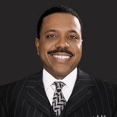 Creflo Dollar, Word of Faith pastor of two churches.  No, he didn't change his name to Dollar.