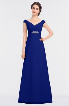 848407bb872 ColsBM Nadia - Nautical Blue Bridesmaid Dresses