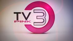 Pink TV3 ident by vudumotion. Animation created for a TV channel.