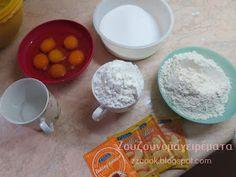 Ζουζουνομαγειρέματα: Παντεσπάνι για τούρτα!!! Sponge Cake, Baking, Breakfast, Food, Morning Coffee, Biscuit Cake, Bakken, Eten, Bread