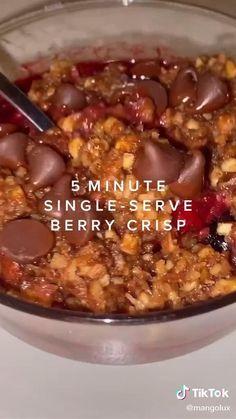 @mangolux on TikTok Healthy Sweets, Healthy Dessert Recipes, Sweets Recipes, Fall Recipes, Snack Recipes, Healthy Food, Tasty Videos, Food Videos, Fun Baking Recipes