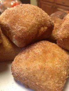 Cinnamon Sugar Loaves in the Brownie Pan