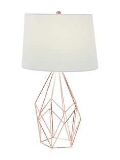 Wire Table Lamp by UMA at Gilt
