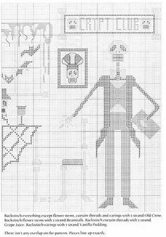 HALLOWEEN PUNTO EN CRUZ (pág. 3)   Aprender manualidades es facilisimo.com