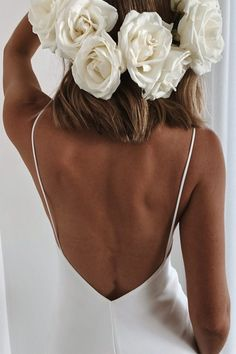 The Summer is the simple and sexy silk wedding dress you've been longing for. Rental Wedding Dresses, Long Wedding Dresses, Cheap Wedding Dress, Gown Wedding, Lace Wedding, Matric Farewell Dresses, Matric Dance Dresses, Boohoo Wedding Dress, Wedding Dress Sleeves