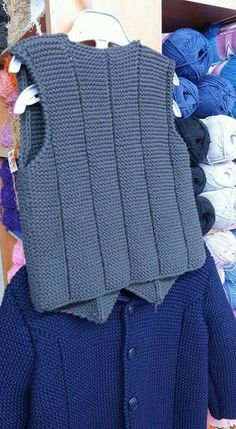 Knitted child sweater fashions and video explanations Knitwear for a very long time occurs to be trendy. Knitwear may be … Crochet For Boys, Knitting For Kids, Baby Knitting Patterns, Knit Vest, Sweater Fashion, Baby Dress, Knitwear, Knit Crochet, Sweaters