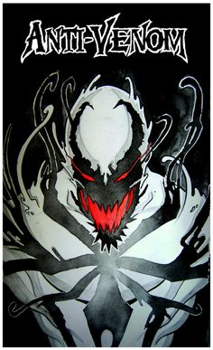 ANTI-VENOM (SPIDERMAN) by Vagavans