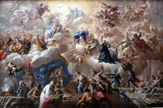"""""""The Triumph Of The Immaculate""""  Paolo de Matteis"""