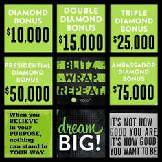 Contact me to find out about how you can get these bonuses from It Works!