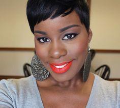 Radiant Skin is Spring's Best Accessory....NYX Orange Lip Liner Pencil & Sleek MakeUp True Color Lipstick in OMG