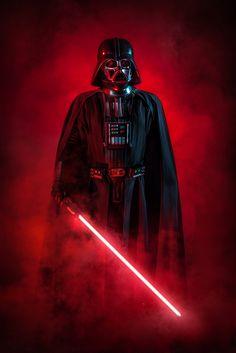 Darth Vader - Star Wars. Cosplay at Aniventure Comic-Con 2017.
