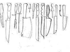 Knife illustration