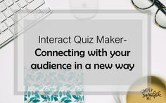 Using Interact Quiz Maker to Connect With Your Audience. Increase your email list and connect with your audience! Make More Money, Make Money From Home, Business Tips, Online Business, Quiz Maker, Earn Money Online, Blogging For Beginners, Friendship Quotes, Self Help