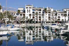 The Harbour in Marbella Costa Del Sol Spain
