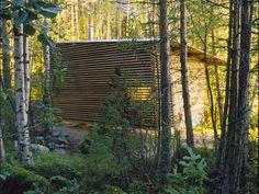 Sauna Sirola, designed by finnish firm, K2S Architects